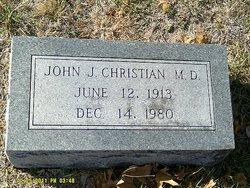 """Dr John J """"Jack"""" Christian"""