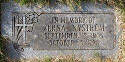 """Vernice """"Verna"""" <I>Norris</I> Nystrom"""