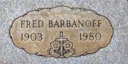 Fred Barbanoff