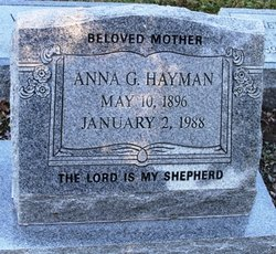 Anna G Hayman