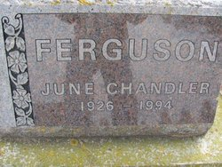 June <I>Chandler</I> Ferguson