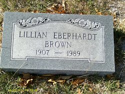 Lillian <I>Eberhardt</I> Brown