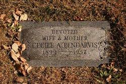 Cecile A <I>Evans</I> Pendarvis