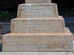Agnes Marion <I>Craig</I> Harper