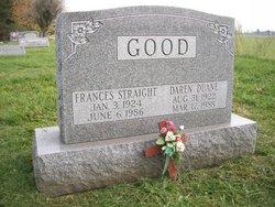 Frances <I>Straight</I> Good