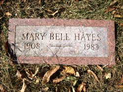 Mary Alice <I>Bell</I> Hayes