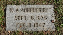 Walter A Argenbright