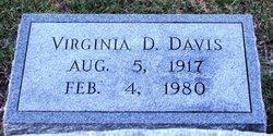 Virginia D Davis