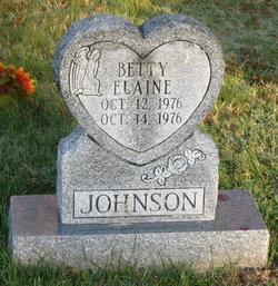 Betty Elaine Johnson