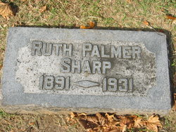 Ruth Palmer <I>Silvey</I> Sharp