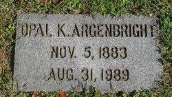 Opal <I>Kinsey</I> Argenbright