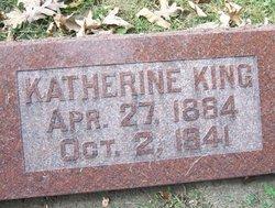 Katherine <I>Sonier</I> King
