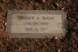 Esther A Hahn