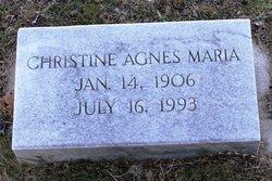 Christine Agnes Maria