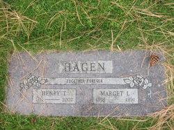 Marget L <I>Ingebretson</I> Hagen