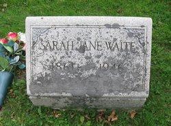 Sarah Jane Waite