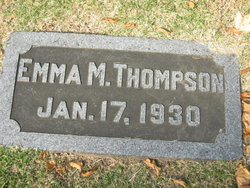 Emma M. Thompson