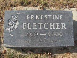 Ernestine <I>Jones</I> Fletcher
