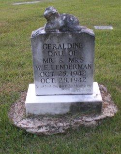 Geraldine Lenderman