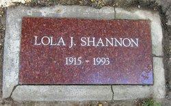 Lola J. Shannon