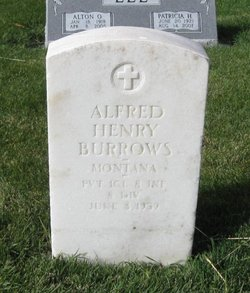 Alfred Henry Burrows