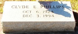 Clyde E Phillips
