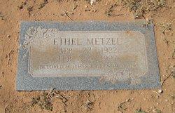 Ethel Metzel