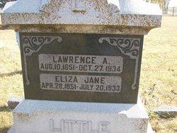 Eliza Jane <I>Porterfield</I> Little