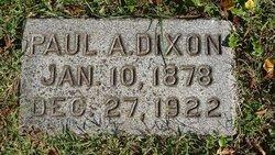 Paul Arnolphus Dixon