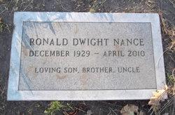 Ronald Dwight Nance