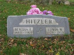 Bertha E. <I>Tanner</I> Hitzler