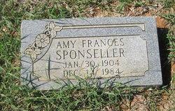 Amy Frances Sponseller