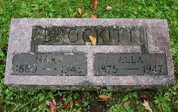 """Albert Oscar """"Alla"""" Brockitt"""