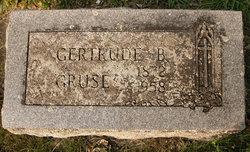 Gertrude Anna <I>Bender</I> Gruse