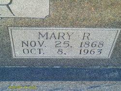 Mary Rebecca <I>Pinkston</I> Baker