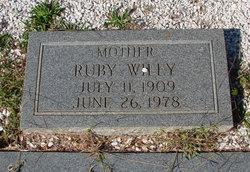 Ruby <I>Wiley</I> Pharr