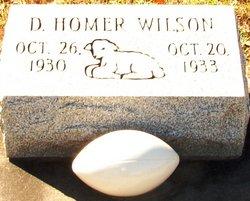 D Homer Wilson