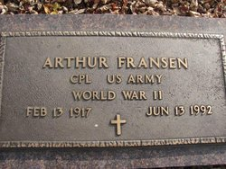 Corp Arthur Gorter