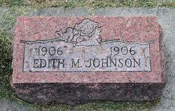Edith M Johnson