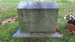 Bernard Everett Alden, Sr