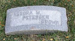 Aurora M. <I>Petersen</I> Brown