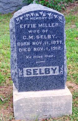 Effie <I>Miller</I> Selby