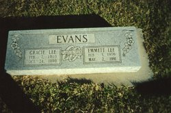 Gracie Lee <I>Nelson</I> Evans