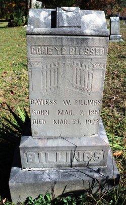 Bayless Winslow Billings, Sr