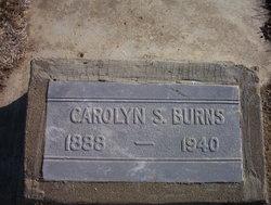 Caroline S <I>Cockran</I> Burns