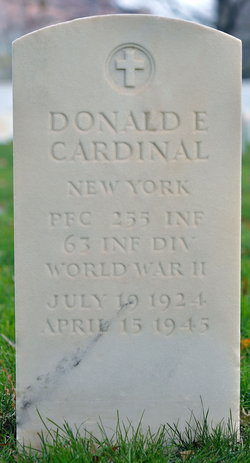 PFC Donald E. Cardinal