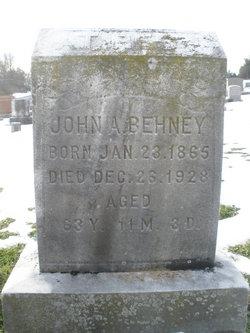 John A Behney