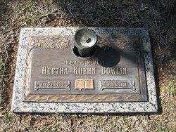 Hertha Christine <I>Kuehn</I> Bowlin