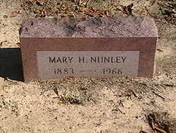 Mary H Nunley