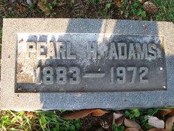 Pearl H Adams